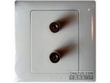 品牌:天基 TianJi&#10名称:一位音响插座&#10型号:K810-SB