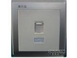 品牌:鸿雁 Hongyan&#10名称:电脑插座&#10型号:V86ZDTN8
