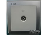 品牌:鸿雁 Hongyan&#10名称:电视插座&#10型号:V86ZTV