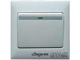 品牌:朗能 Lonon 名称:一位单控大板开关荧光 型号:NB81Q/1