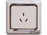 品牌:朗能 Lonon&#10名称:三极插座&#10型号:NB12103
