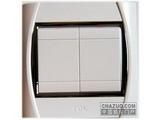品牌:TCL-罗格朗 TCLLegrand&#10名称:二位单控中按钮开关&#10型号:S32/1/2C