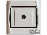 品牌:TCL-罗格朗 TCLLegrand&#10名称:电视插座&#10型号:S31VTV75M