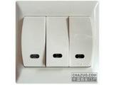 品牌:罗格朗 Legrand&#10名称:三位双控开关带灯&#10型号:614645