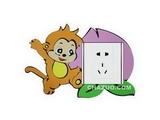 品牌:奥盛 Aosens 名称:小猴子开关贴 型号:KT2019