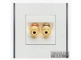 品牌:朗能 Lonon&#10名称:一位音箱插座&#10型号:NB8.0YX/2