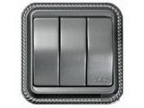 品牌:天基 TianJi 名称:16A 三位单极大板开关 型号:R273