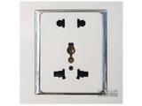 品牌:西蒙 Simtone 名称:五孔多功能插座 型号:S51080