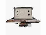 品牌:TCL-罗格朗 TCLLegrand 名称:不锈钢五孔多功能地面插座 型号:UBGF12/426/2W