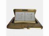 品牌:TCL-罗格朗 TCLLegrand&#10名称:铜面电脑电话地面插座&#10型号:KBTFT01/C01/W