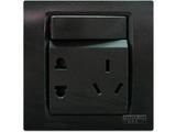 品牌:西门子 Siemens 名称:带单控开关10A联体二三极插座 型号:5UB0734-3NC3