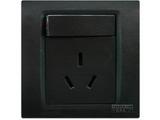 品牌:西门子 Siemens&#10名称:带单控开关10A三极插座&#10型号:5UB0733-3NC3