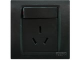 品牌:西门子 Siemens 名称:带单控开关16A空调插座 型号:5UB0736-3NC3