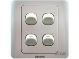 品牌:西门子 Siemens 名称:四联单控开关 型号:5TA0141-1CC1