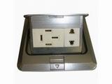 品牌:松下 Panasonic&#10名称:六孔电源铝制地面插座&#10型号:SX-DM-2