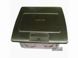 品牌:JOHO JOHO&#10名称:五孔电源不锈钢地面插座&#10型号:DCT-B28/PB