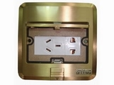 品牌:JOHO JOHO&#10名称:五孔电源地面插座&#10型号:DHM-628/GB