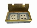 品牌:飞利富 Feilifu&#10名称:八位模块多功能地面插座&#10型号:HTD-300K