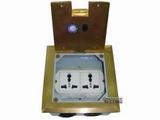 品牌:飞利富 Feilifu&#10名称:一位多功能地面插座&#10型号:HTD-120