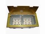 品牌:瑞博 Ruibo 名称:超高底盒八位电源地面插座 型号:RDC-300G