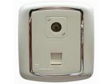 品牌:梅兰日兰 Meilan 名称:白色电视/电脑信息插座 型号:L870.AA