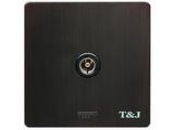 品牌:天基 TianJi&#10名称:电视插座&#10型号:G801-TV/BBZ