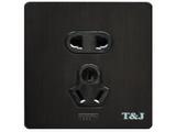 品牌:天基 TianJi 名称:五孔插座 型号:G810UV/BBZ
