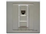 品牌:梅兰日兰 Meilan 名称:电脑+电话插座 型号:C860