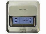 品牌:西蒙 Simtone 名称:铜面多功能五孔地面插座 型号:TD120-F5