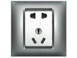 品牌:西蒙 Simtone&#10名称:五孔插座&#10型号:59084A