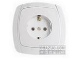品牌:松瑞 Songrui&#10名称:一位欧式插座&#10型号:SR-2206