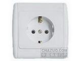 品牌:松瑞 Songrui&#10名称:一位欧标插座&#10型号:SR-21106