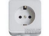 品牌:松瑞 Songrui&#10名称:一位欧标插座&#10型号:SR-21115