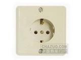 品牌:松瑞 Songrui&#10名称:一位欧标插座&#10型号:SR-20202