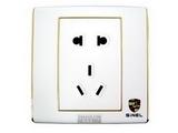 品牌:世耐尔 SINEL&#10名称:连体二、三极插座&#10型号:S600/426/10USL