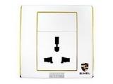 品牌:世耐尔 SINEL&#10名称:一位多用插座&#10型号:S600/426