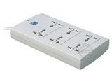品牌:突破 Top&#10名称:基准双排一控6联插座/接线板&#10型号:TZ-Y/TZ-E.3M