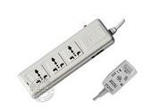 品牌:可来博 Clamber&#10名称:漏电保护一开三位3米&#10型号:STY-1-13L/2000.3m