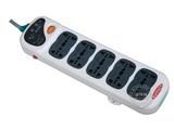 品牌:公牛 BULL 名称:插座 总控双排10联3米插座 型号:GN-208