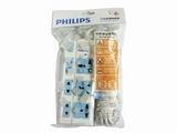 品牌:飞利浦 PHILIPS&#10名称:经济系列插座6位总开关3米&#10型号:SPN6361WA/93(A)