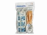 品牌:飞利浦 PHILIPS 名称:家用型简装插座6位总开关3米 型号:SPN6361WA/93(H)