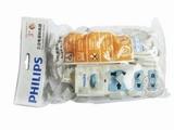 品牌:飞利浦 PHILIPS&#10名称:经济系列插座 三位 5米 白+蓝&#10型号:SPN2131WA/93(H)