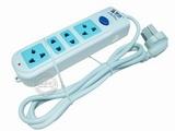品牌:慈达 strtec&#10名称:总控4联1.5米插座&#10型号:CDX-304