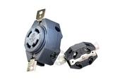 品牌:奥盛 Aosens&#10名称:固定式美国军用刀片式4孔插座&#10型号:AS-B-017