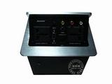 品牌:奥盛 Aosens 名称:弹起式双电源桌面插座(机箱) 型号:JS-550+