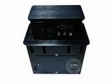 品牌:奥盛 Aosens&#10名称:三面升降式双电源桌面插座&#10型号:JS-720V