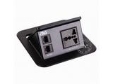 品牌:奥威亚 AVA&#10名称:弹起式圆角斜面桌面插座&#10型号:CZ-JXH-104