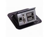 品牌:奥威亚 AVA 名称:弹起式圆角斜面桌面插座 型号:CZ-JXH-105
