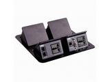 品牌:奥威亚 AVA&#10名称:四联弹起式桌面插座&#10型号:CZ-JXH-240