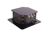 品牌:奥威亚 AVA&#10名称:升降式正方形六面桌面插座(信息岛)&#10型号:CZ-JXH-601